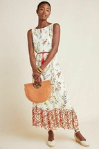 NWT ANTHROPOLOGIE JEMIMA FLORAL MAXI DRESS by FARM RIO S - $113.99
