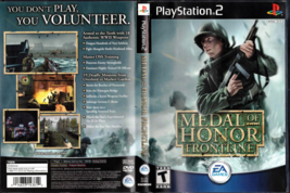 Medal of Honor: Frontline (Sony PlayStation 2, 2002) PS2 - $5.53