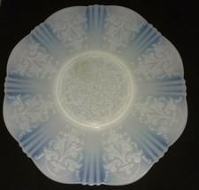 Macbeth Evans American Sweetheart Monax Salver Plate 12 Inch Depression Opaque - $18.99