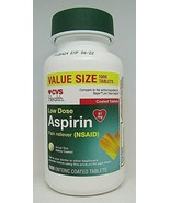 CVS Health Low Dose Aspirin 81mg Pain Reliever Coated 1000Tablets Exp.6/22 - $21.77