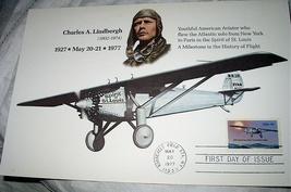 Charles LINDBERGH-FDC-1st Solo Transatlantic Flight - $65.00