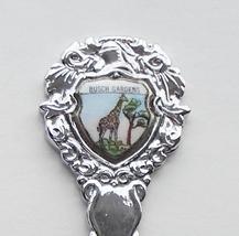 Collector Souvenir Spoon USA Florida Tampa Busch Gardens Giraffe Porcelain - $9.99