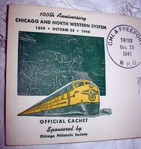 Cachet Rpo Commemorative 100TH Annv Chicago,Nw - $28.00