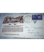 RAILROAD CANCELLATIONS-1944 RPO CHICAGO AND OMAHA  - $32.00