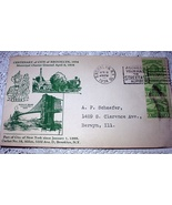 1934 CACHET-CENTENARY OF CITY OF BROOKLYN,NY  - $18.00