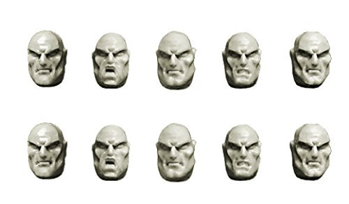 Spellcrow 28mm Conversion Bits Space Knights Guards Bald Heads