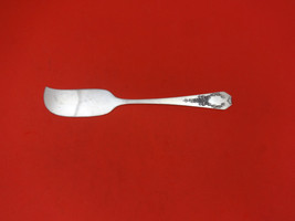 "Madam Jumel by Whiting Sterling Silver Flat Handle Butter Spreader Large 5 1/2"" - $46.55"