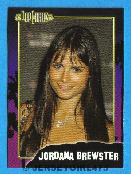 Jordana Brewster 2008 PopCardz Celebrity Card ~ Fast & Furious