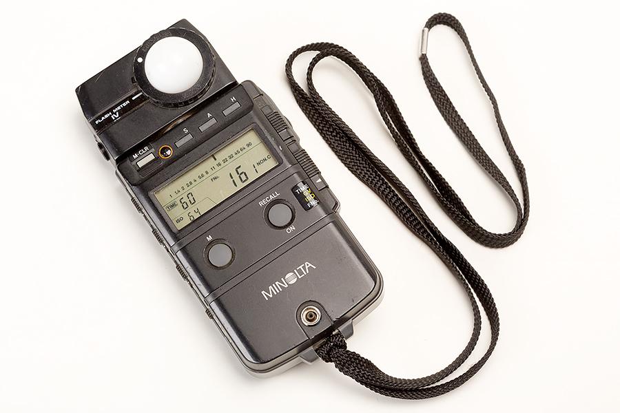 Minolta flash meter 4 front 1