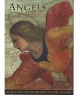 Angels- 20 blank Greeting/Gift Cards & Envelopes;10 Fine Art paintings;C... - $124.99