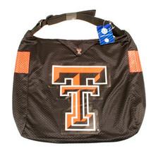 NCAA Texas Tech Red Raiders Jersey Purse Big Tote Bag -   Shoulder Strap... - $18.76