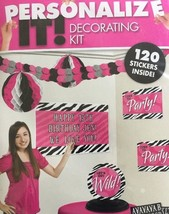 Personalize Birthday Decorating Kit - $5.00