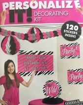 Personalize Birthday Decorating Kit - $5.00