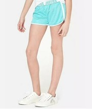 Justice Girl's Size 12 Fold-over Mesh Shorts in ICICLE New with Tags - $9.89