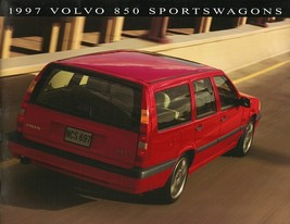 1997 Volvo 850 WAGONS sales brochure catalog US 97 GLT T-5 R - $10.00