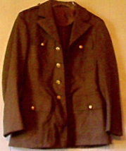 Top Quality Vintage Tailored US Army Wool Dress Jacket 36R Impeccable Co... - $40.00
