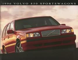1996 Volvo 850 WAGONS sales brochure catalog US 96 GLT Turbo Platinum - $9.00