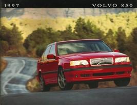1997 Volvo 850 SEDANS sales brochure catalog US 97 GLT T-5 R - $10.00