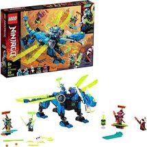 New LEGO NINJAGO 71711 Jay's Cyber Dragon Ninja Action Toy Building Kit - $36.99