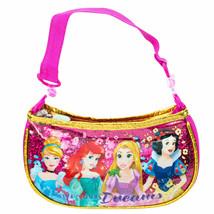 Disney Princess Youth Girls Small Handbag Purse Pink - $16.98
