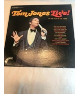 Vintage 1967 TOM JONES Live at The Talk Of The Town  LP Vinyl Record Album  - $9.12