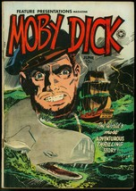 Moby Dick - Feature Presentations #6 1950 - Wally Wood cover VG - $94.58