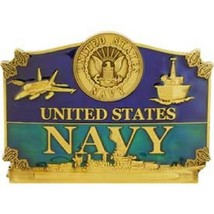 United States American Navy Action Belt Buckle - $18.76