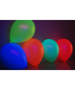 Set of 50 Assorted 11 inch UV Blacklight Reactive Latex Balloons - $18.95