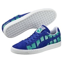 Puma Suede Classic Royal Blue Turg Big Logo 360195-03 Suede Casual Men - $38.95