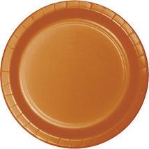 "Dinner Plates 8.75"" 24/Pkg-Pumpkin Spice - $17.87"