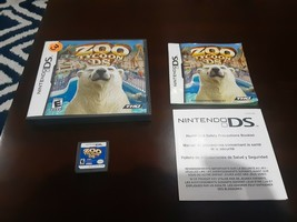Zoo Tycoon DS (Nintendo DS, 2005) Cartridge, case and manual - Tested!! - $6.99