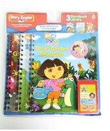 Dora Blues Clues Spongebob Story Reader Storybook 3 Book Cartridge New - $18.99