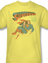 Man lois lane dc comics vintage tee action comics graphic yellow tshirt for sale online thumb200