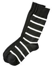 Polo Ralph Lauren Men's 2 Pack Wide Stripe Crew Socks,  Shoe Size 6-12.5 - $12.86