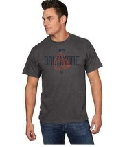 NEW MENS MAJESTIC BALTIMORE ORIOLES MLB CLUBHOUSE GRAY T-SHIRT SIZE L BA... - $17.77