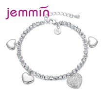 Hot Sell Fashion 925 Sterling Silver Beads Charm Bracelet for Kids Child... - $16.91