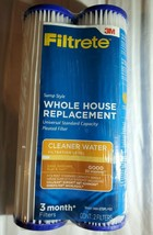 3M Filtrete 3WH-STDPL-F02 Whole House Filters Twin Pack New Sealed - $12.27