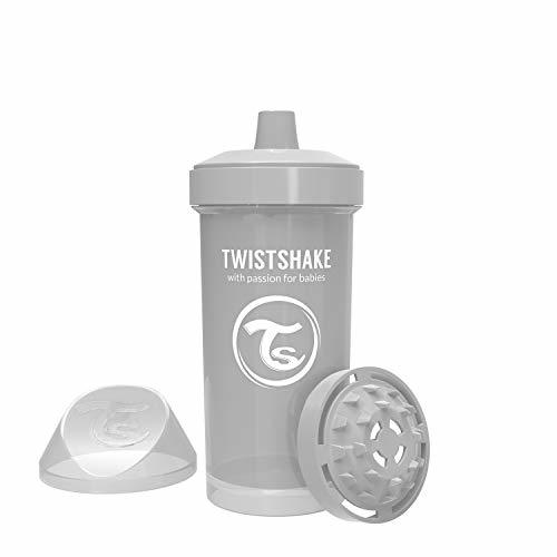 Twistshake Kid Cup 360ml/12oz 12+m Pastel Grey