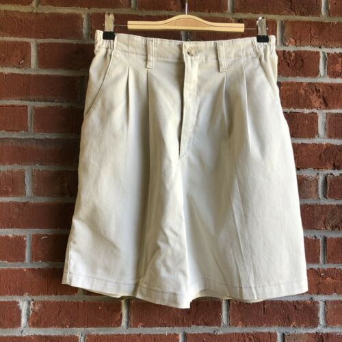 Primary image for Lee At the Waist Pleated Elastic Waist Khaki Shorts - Stretch - Size 8M