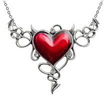 Alchemy of England Gothic Devil Heart Genereux Punk Jewelry Necklace ULFP25 - $69.99