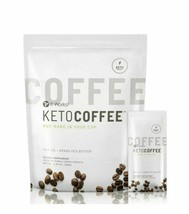 IT WORKS KETO COFFEE 15 PACKETS SEALED PACKAGED WITH MTC OIL NEW AND IMP... - $33.65