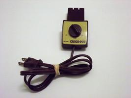 Rival Crock Pot Slow Cooker Temperature Control Probe Power Cord Part SH... - $19.99