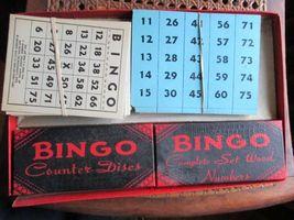 Vintage Bingo Game in Box, J. Pressman Co., New York image 3