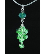 Pendant_Palace Green Opal and Peridot Crystals - $30.00