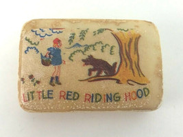 Vintage Soap Bar Little Red Riding Hood Big Bad Wolf - $35.00
