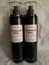 BATH & BODY WORKS BBW CHAMPAGNE ROSE FINE FRAGRANCE MIST - DELICATE & GR... - $24.99