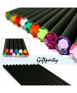 KEVIN&SASA® 12Pcs/Set Pencil Hb Diamond Color Pencil Stationery Items - $5.84