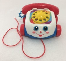 Fisher Price Retro Chatter Phone Telephone Pull Along Toy 2000 - $13.98