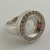 Authentic Kameleon Sterling Silver Cz  Ring Kr-12 Kr012  Size 10, New - $66.49