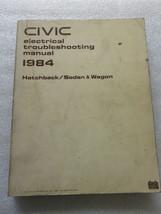 B 1984 Honda Civic Electrical Troubleshooting Service Manual OEM Dealer ... - $2.82